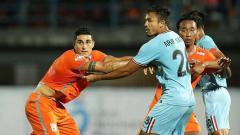 Indosport - Manajer Borneo FC, Dandri Dauri membantah tudingan 'main mata' di Liga 1 2019, saat kalah dari Persela Lamongan di Stadion Segiri, Rabu (27/11/19).