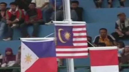 Chief de Mission Malaysia di SEA Games 2019 melayangkan protes usai medali emas Izzah Amzan dari cabang senam ritmis dicabut, Sabtu (7/12/19) kemarin. - INDOSPORT