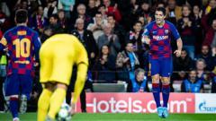 Indosport - Tengah cari penerus dirinya di klub LaLiga Spanyol, Barcelona, Luis Suarez kirim pujian untuk wonderkid Chelsea, Tammy Abraham.