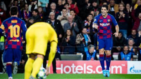 Sudah tentukan tenggat waktu, raksasa LaLiga Spanyol, Barcelona, akan segera dapat striker baru pengganti Luis Suarez. - INDOSPORT