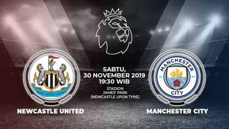 Pertandingan antara Newcastle melawan Manchester City menjadi laga pembuka pekan ke-14 Liga Inggris 2019/20. Duel ini dapat disaksikan secara live streaming. - INDOSPORT