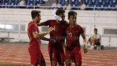 Indosport - Egy Maulana, Saddil Ramdani, dan Osvaldo Haay (kanan) dinilai layak bermain di Liga Jepang.