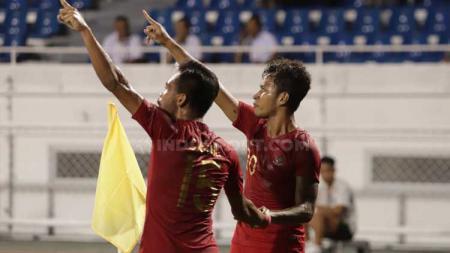 Osvaldo Haay (kanan) dan Saddil Ramdani (kiri) dikabarkan telah menjadi incaran Persija Jakarta di Liga 1 2020. - INDOSPORT