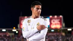 Indosport - Pemain bintang klub Liga Spanyol, Real Madrid, James Rodriguez