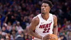 Indosport - Jimmy Butler, bintang basket NBA dari tim Miami Heat