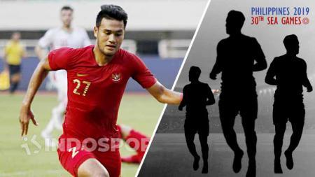 3 Pemain Timnas Indonesia U-23 Bisa Gantikan Muhammad Rafli Andai Absen di SEA Games 2019. - INDOSPORT