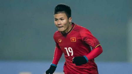 Bintang Timnas Vietnam, Nguyen Quang Hai, tak takut Shin Tae-yong di Kualifikasi Piala Dunia 2022. - INDOSPORT