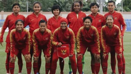 Timnas Indonesia Putri yang berlaga di SEA Games 2019 - INDOSPORT