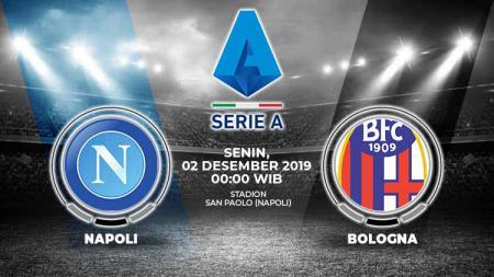 Prediksi pertandingan pekan ke-14 Serie A Liga Italia antara Napoli vs Bologna yang akan digelar di Stadion San Paolo, Senin (02/12/19) dini hari WIB. - INDOSPORT