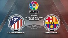 Indosport - Berikut prediksi pertandingan antara Atletico Madrid vs Barcelona di Stadion Wanda Metropolitano, Senin (02/12/19) WIB.