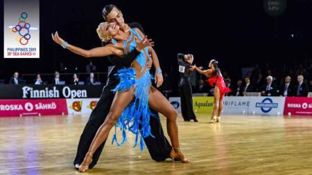 Cabang Olahraga Dancesport di SEA Games 2019. - INDOSPORT