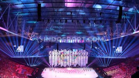 Opening ceremony SEA Games 2019 di Philippine Stadium, Sabtu (30/11/19). Foto: Ronald Seger Prabowo/INDOSPORT - INDOSPORT