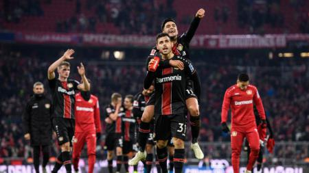 Bayer Leverkusen berhasil mengalahkan Bayern Munchen dalam lanjutan pekan ke-13 kompetisi Bundesliga Jerman 2019-2020, Minggu (01/12/19). - INDOSPORT