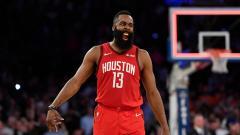 Indosport - James Harden, pemain megabintang NBA dari tim Houston Rockets.jpg