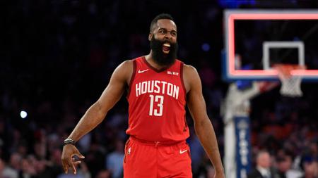 James Harden, pemain megabintang NBA dari tim Houston Rockets.jpg - INDOSPORT