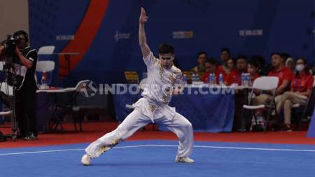 Selain sepak bola, Menpora Zainudin Amali menyebut wushu juga aktif mengharumkan nama Indonesia. - INDOSPORT