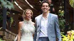Indosport - Berita sportainment: lepas status duda, Kaka nikahi kekasihnya, Carolina Dias.