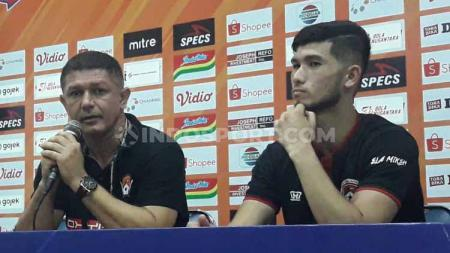 Preskon Kalteng Putra, Gomes De Oliveira & Kevin Gomes. - INDOSPORT