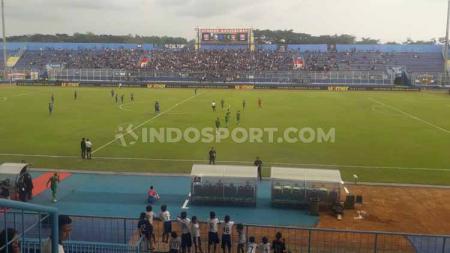 Klub Liga 1, Arema FC besar kemungkinan tidak akan menggunakan Stadion Kanjuruhan jika direnovasi. - INDOSPORT