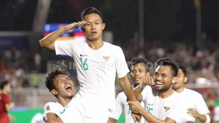 Sani Rizki Fauzi menjadi pemain Timnas Indonesia U-23 pertama yang mencetak gol ke gawang Vietnam di SEA Games 2019.