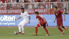 Indosport - Timnas Indonesia U-23 harus menerima pil pahit setelah kalah 0-2 dari Vietnam dalam laga ketiga Grup B sepak bola SEA Games 2019.