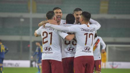 Klub sepak bola Serie A Italia, AS Roma dilaporkan tak bisa menurunkan skuat terbaiknya pada laga kontra Inter Milan dalam lanjutan pekan ke-15 Serie A Italia, Sabtu (07/12/19). - INDOSPORT