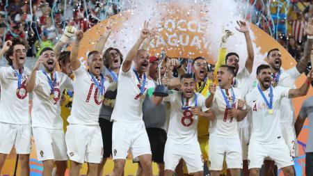 Portugal juara Piala Dunia sepak bola pantai 2019 - INDOSPORT