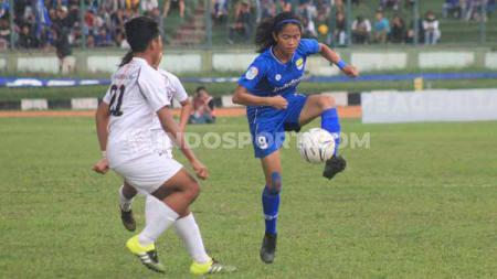 Arema FC dipastikan gagal berlaga di babak final Liga 1 Putri, setelah misi revans tidak terwujud sempurna saat menjamu Persib Bandung. - INDOSPORT