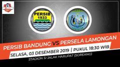 Indosport - Laga pekan ke-30 Shopee Liga 1 antara Persib Bandung menjamu Persela Lamongan, Selasa (3/12/19), 18.30 WIB, bisa disaksikan di situs live streaming Vidio.com.