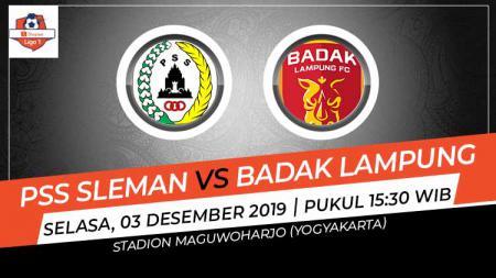 Prediksi pertandingan antara PSS Sleman vs Perseru Badak Lampung FC di Liga 1 2019 tampaknya membuat tuan rumah berusaha bangkit, Selasa (03/12/19). - INDOSPORT