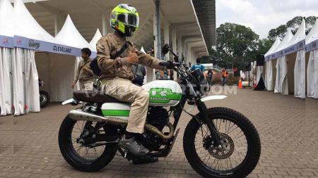 Pengunjung IIMS Motobike Expo 2019. - INDOSPORT