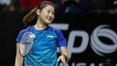 Indosport - Skor Afrika alias skor tak lazim terjadi di turnamen bulutangkis individu SEA Games 2019,dimana tunggal putri Myanmar dibantai tanpa ampun oleh wakil Singapura.