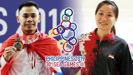 Suka Duka Atlet di SEA Games Filipina 2019. - INDOSPORT