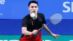Indosport - Kenakan Batik di gala dinner BWF World Tour Finals, Jonatan Christie bikin para netizen dan penggemar bulutangkis kesengsem.