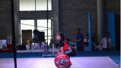 Indosport - Atlet angkat besi Indonesia, Juliana Klarisa sumbang medali perunggu