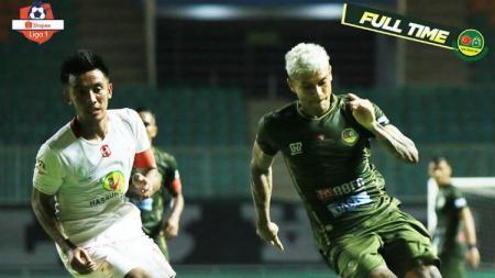 Djanur, sapaan akrab pelatih Barito Djajang Nurdjaman menyebut sosok Bayu bisa membuat timnya tampil percaya diri saat menahan imbang PSM Makassar di Liga 1. - INDOSPORT