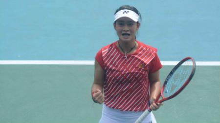 Priska Madelyn Nugroho berharap ada banyak bibit baru yang muncul untuk memajukan dunia tenis Indonesia. - INDOSPORT