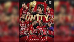 Indosport - Persib Bandung dan Persija Jakarta nampak kompak memberikan ucapan selamat kepada Bali United yang baru saja memastikan gelar juara Liga 1 2019.