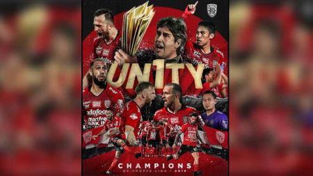 Bali United, klub sepak bola Indonesia yang baru saja menjuarai Liga 1 2019, dikabarkan mendapat sebuah pesan khusus dari Presiden FIFA, Gianni Infantino. - INDOSPORT