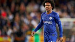 Indosport - Pemain bintang klub Liga Inggris, Chelsea, yakni Willian kontraknya akan habis pada Juni 2020 mendatang