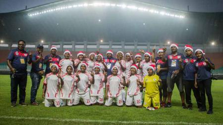 Keputusan Komdis PSSI yang menyatakan Persipura Tolikara Kalah WO dari Tira Persikabo di semifinal leg kedua Liga 1 Putri menyisakan kekecewaan yang mendalam. - INDOSPORT