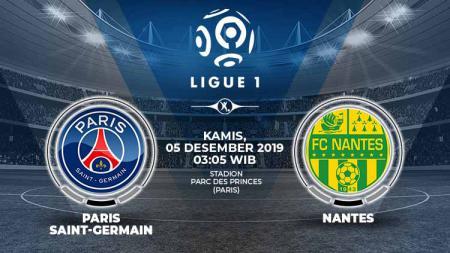 Berikut prediksi pertandingan Paris Saint-Germain vs Nantes di Parc des Princes, Kamis (05/12/19), pada pekan ke-16 Ligue 1 Prancis 2019-2020. - INDOSPORT