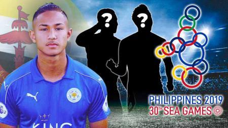 Termasuk pemain muda Leicester City, 3 bintang Brunei yang bisa hadirkan mimpi buruk ke Timnas Indonesia U-23 di SEA Games Filipina 2019. - INDOSPORT