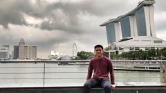 Indosport - Pebulutangkis tunggal putra Indonesia Vicky Angga Saputra yang terdegradasi dari Pelatnas PBSI tahun ini.