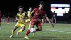 Indosport - Indonesia vs Brunei Darussalam di ajang SEA Games 2019.