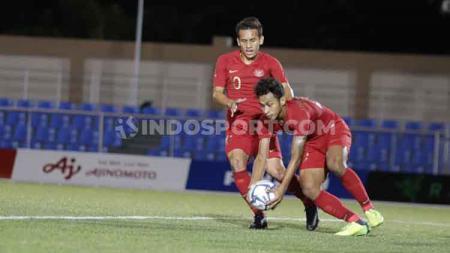Indonesia vs Brunei di laga SEA Games 2019. - INDOSPORT