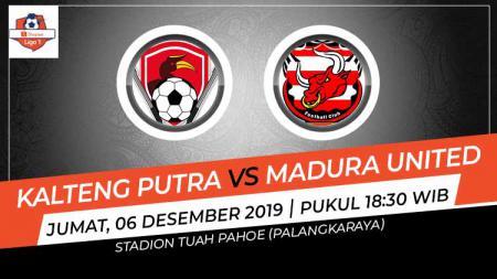Berikut prediksi pertandingan Shopee Liga 1 2019 pekan ke-30 antara Kalteng Putra vs Madura United - INDOSPORT