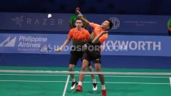 Indosport - Pasangan Fajar Alfian/M.Rian Ardianto mengakui kekalahan mereka di perempatfinal SEA Games 2019 diakibatkan karena mereka kurang belajar dari kesalahan.
