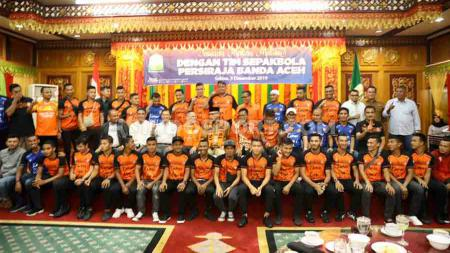 Tim promosi Liga 1 2020 asal Sumatra, Persiraja Banda Aceh akan menggelar latihan perdana mereka pada akhir Januari 2020 di Stadion H. Dimurthala, Banda Aceh. - INDOSPORT
