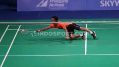 Indosport - Rekap hasil babak semifinal BWF World Tour Finals 2019 sesi 1, Sabtu (14/12/19) di Guangzhou, China, di mana Anthony Ginting lolos ke final.